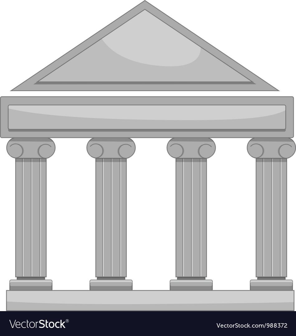 Pantheon vector image