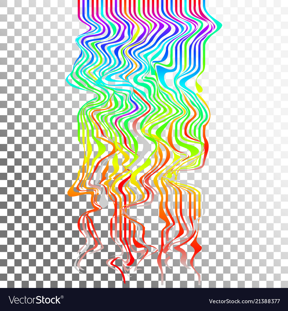 Glitch waves background art digital abstract