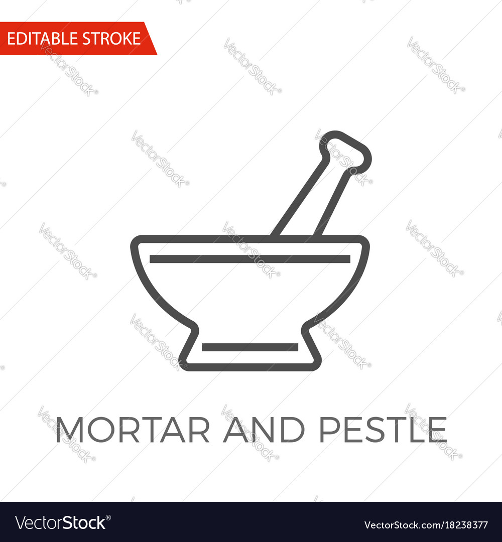 Mortar and pestle icon