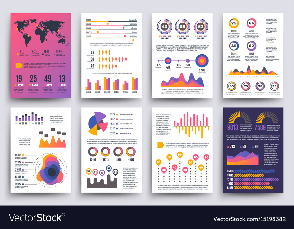 Graphical business report template