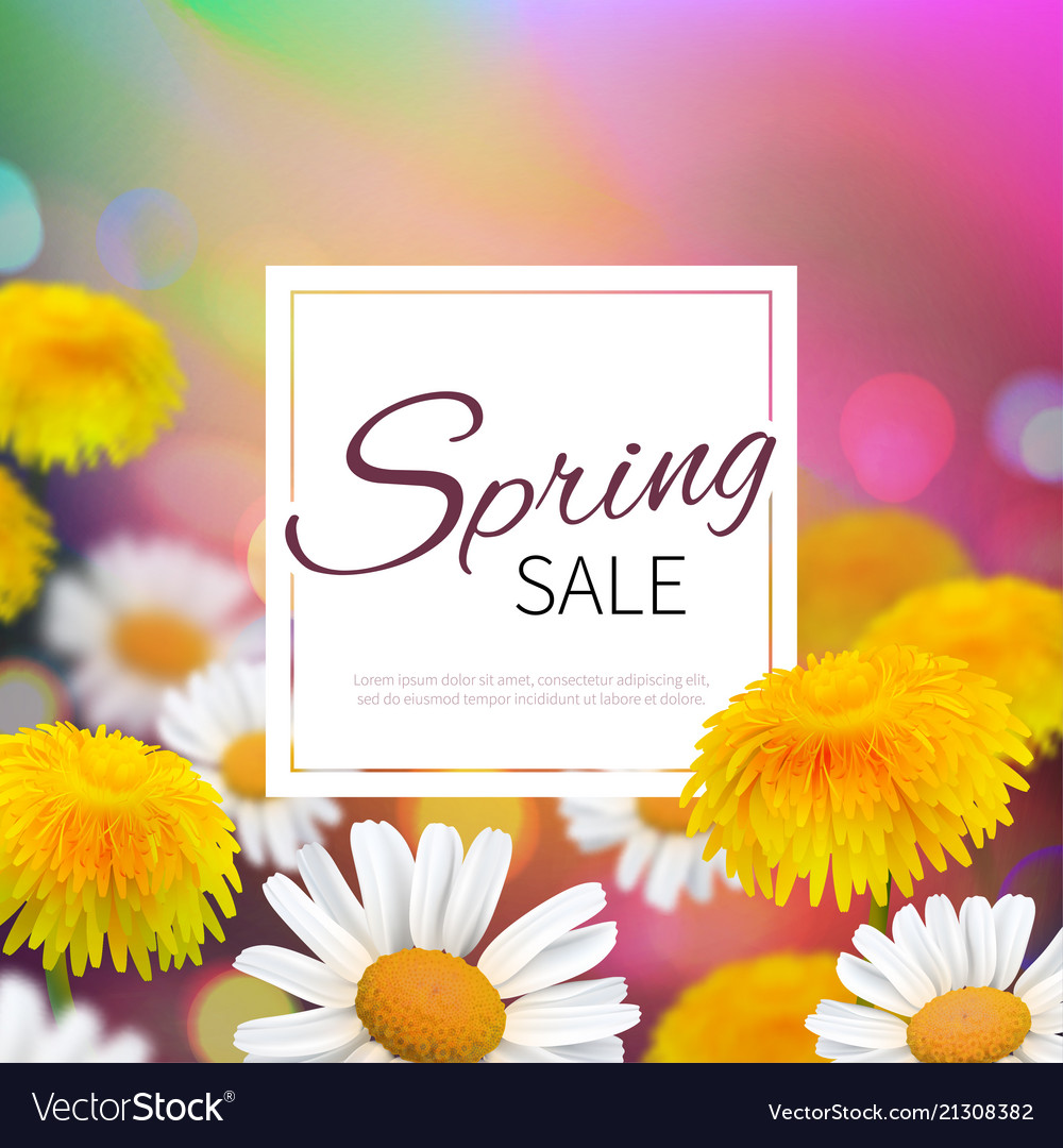 Stock spring sale realistic
