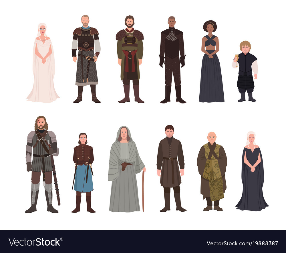 Collection of game of thrones fantasy novel and