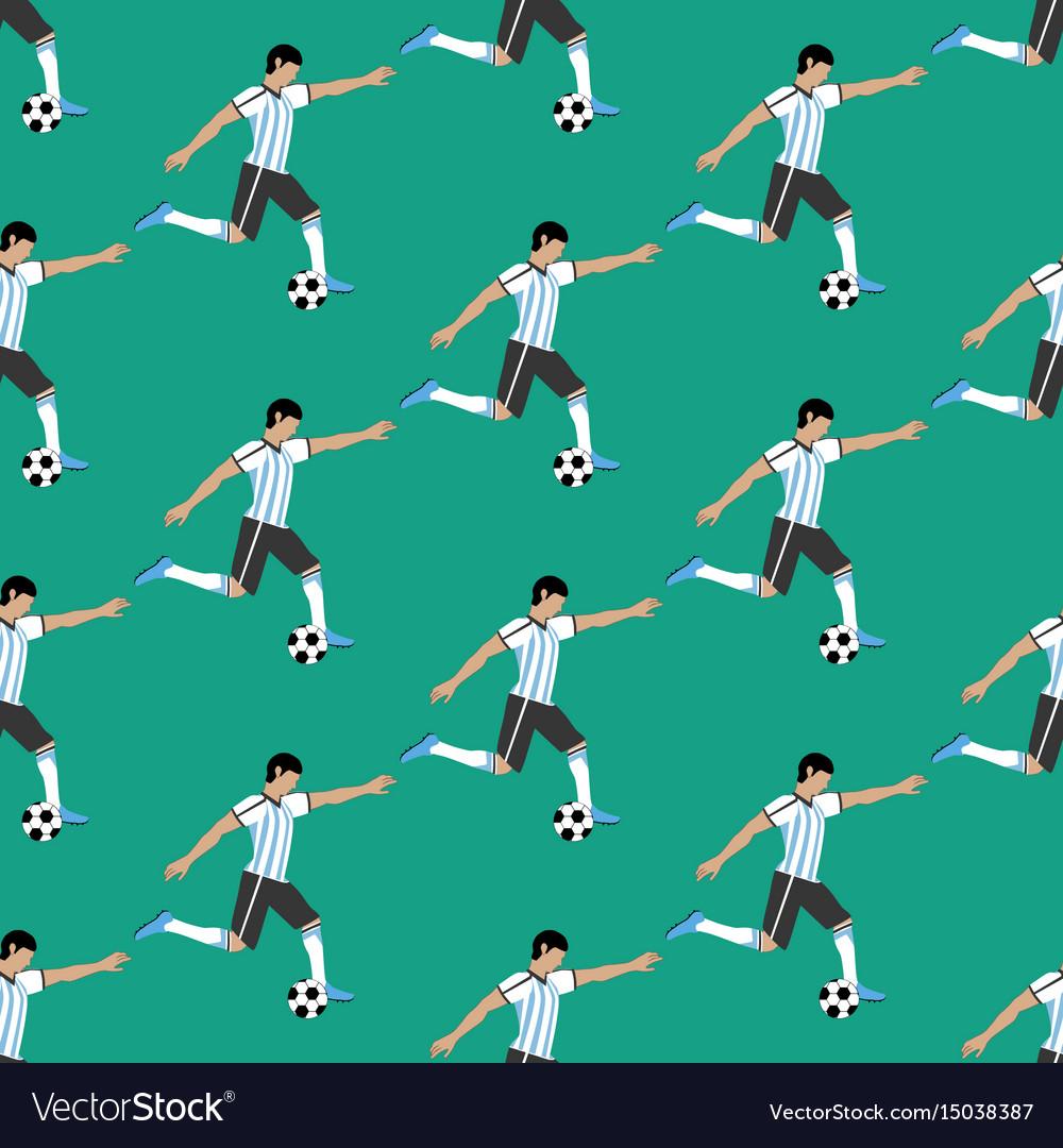 Football player pattern