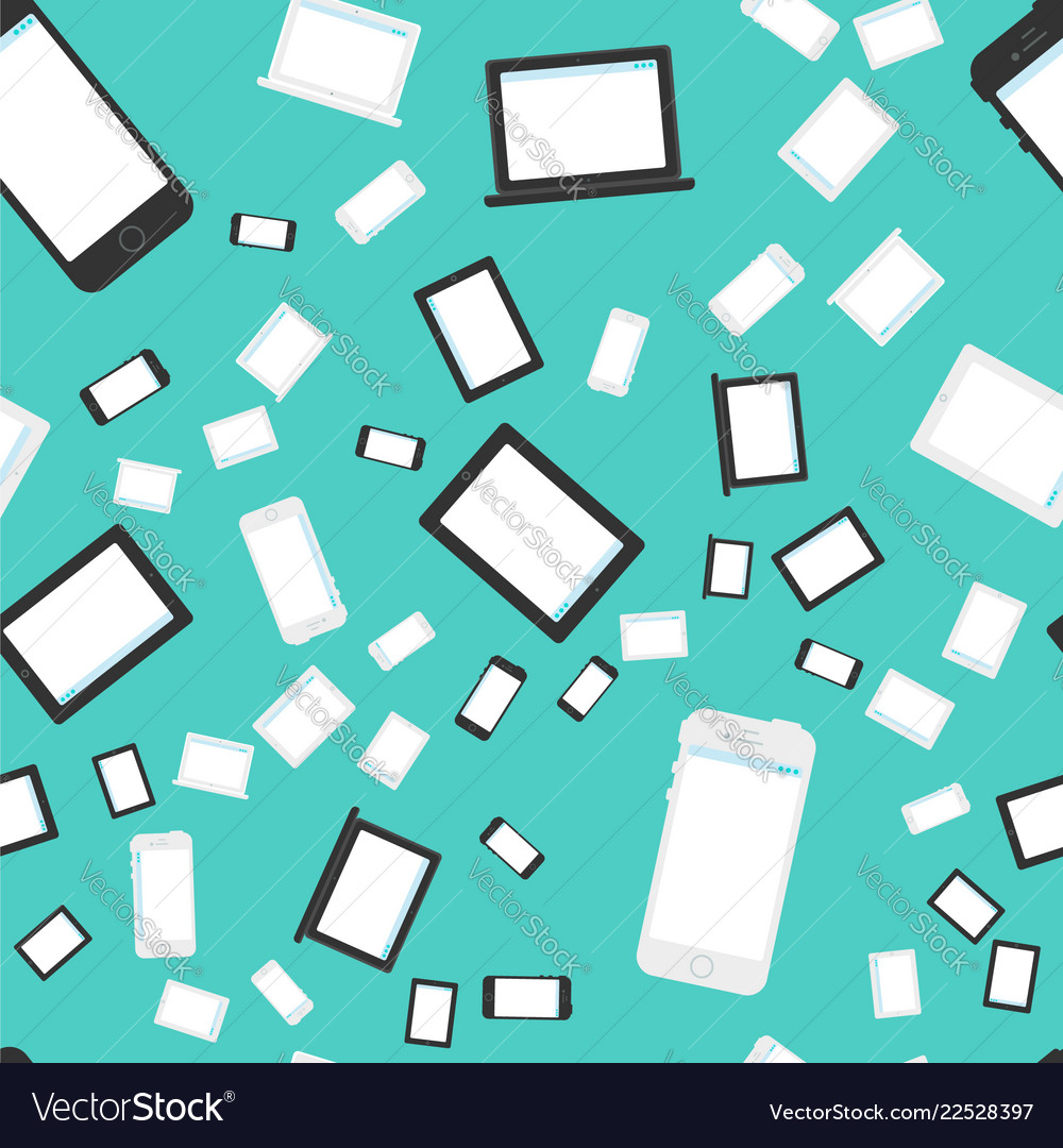 Technics and devices seamless pattern