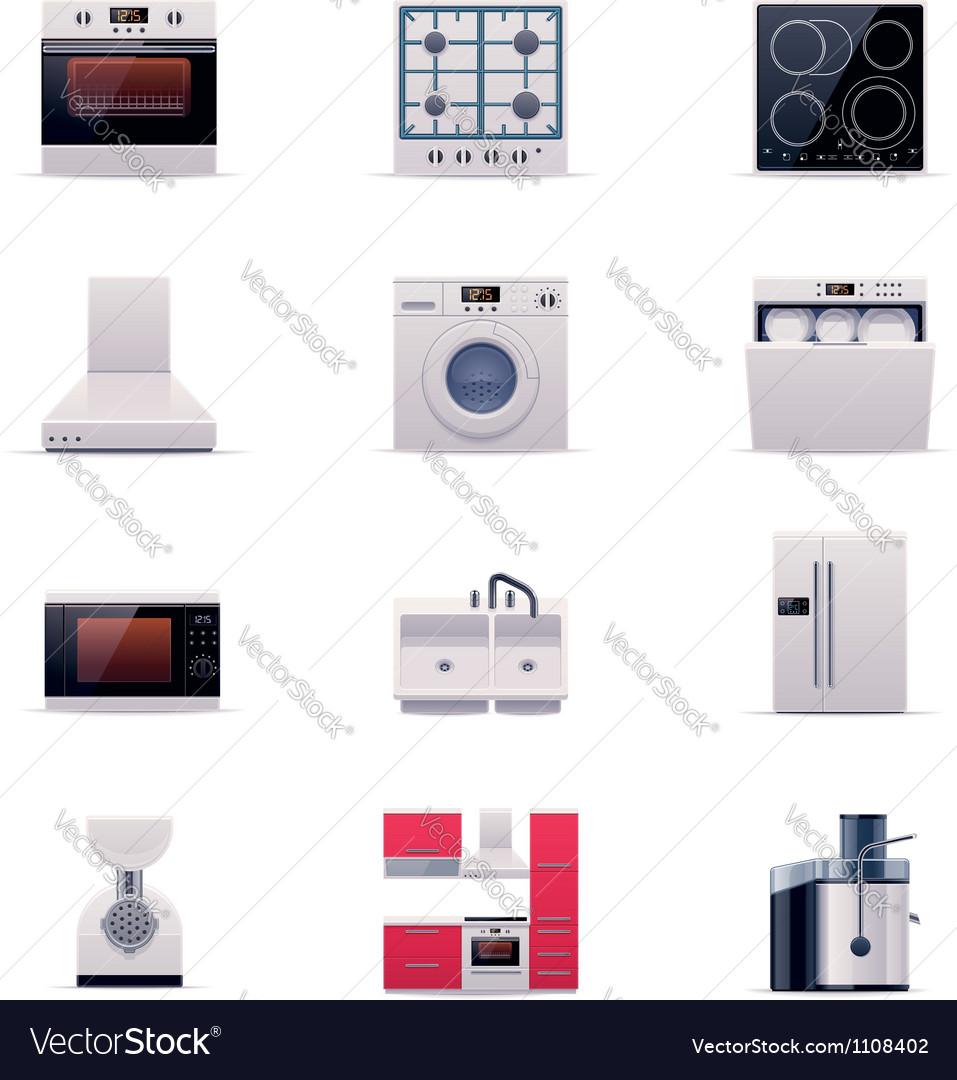 Part one of domestic appliances set
