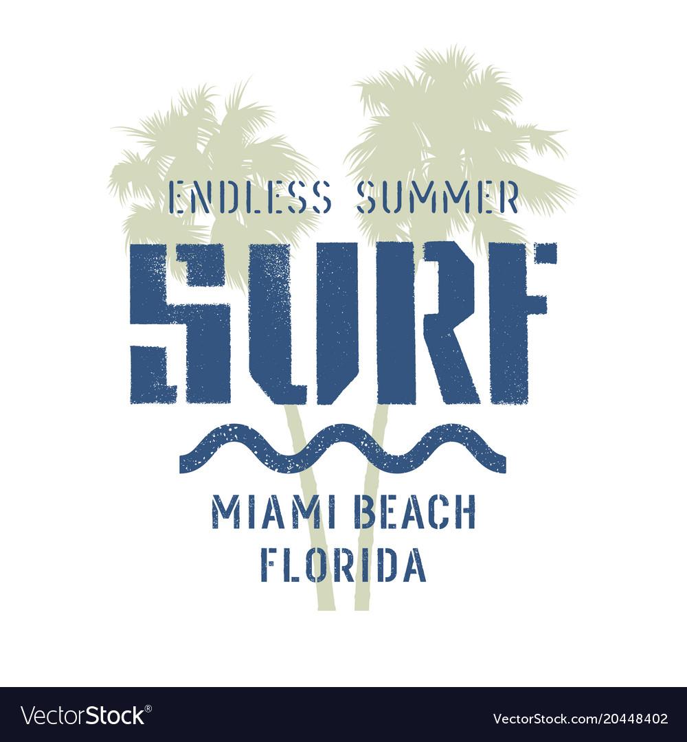 Surfing print 014