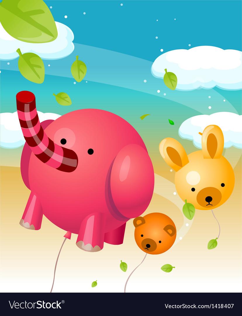 Animal shape balloons