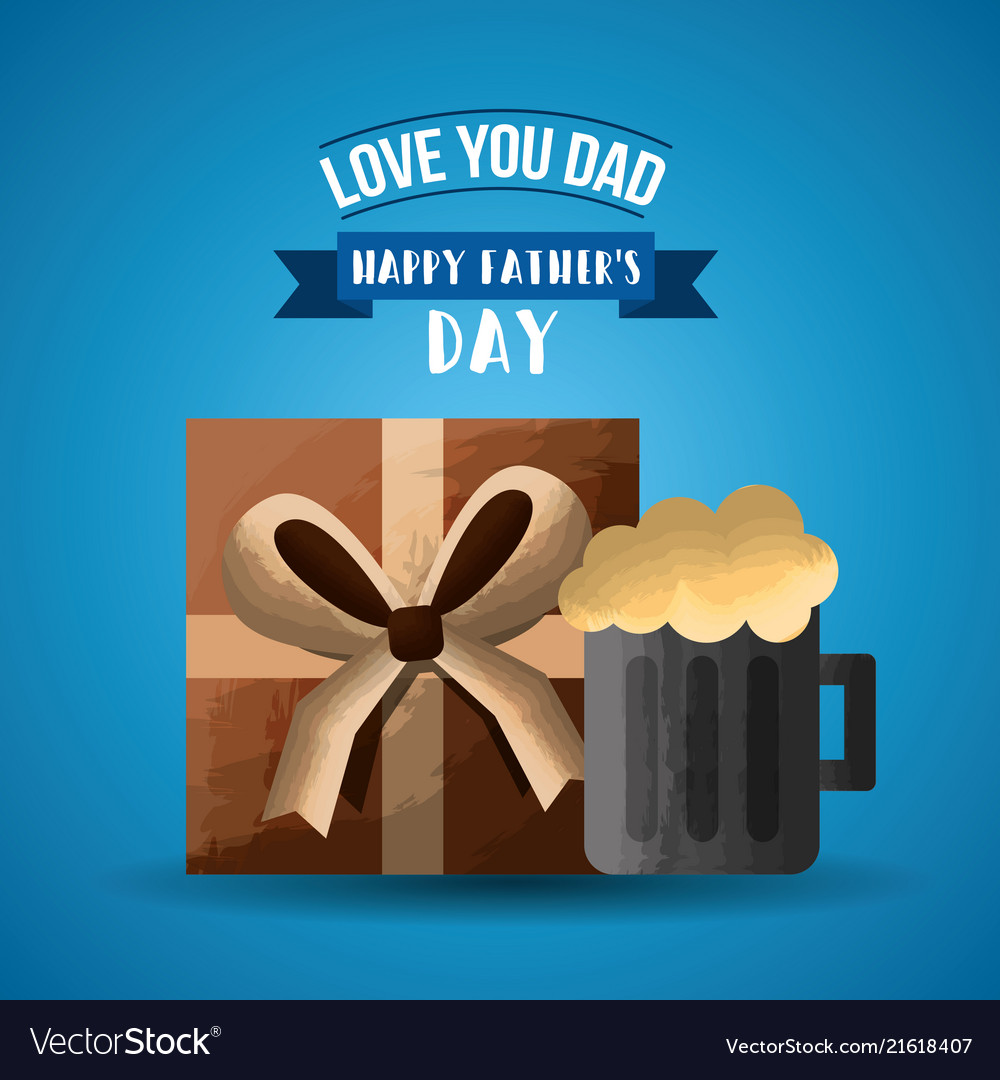 Happy fathers day card image royalty free vector image happy fathers day card image vector image m4hsunfo