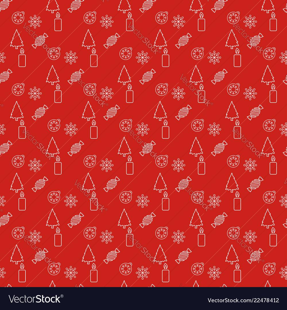 Christmas pattern background design
