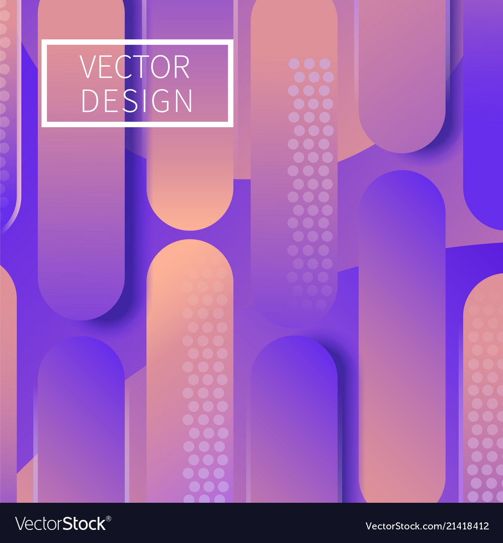 Modern geometric design background
