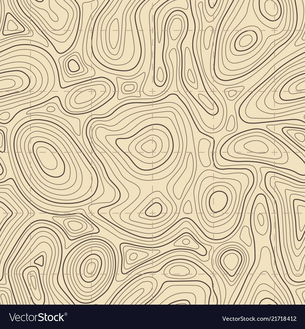 Seamless topographic map texture cartography