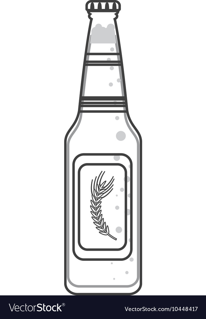 Beer bottle icon