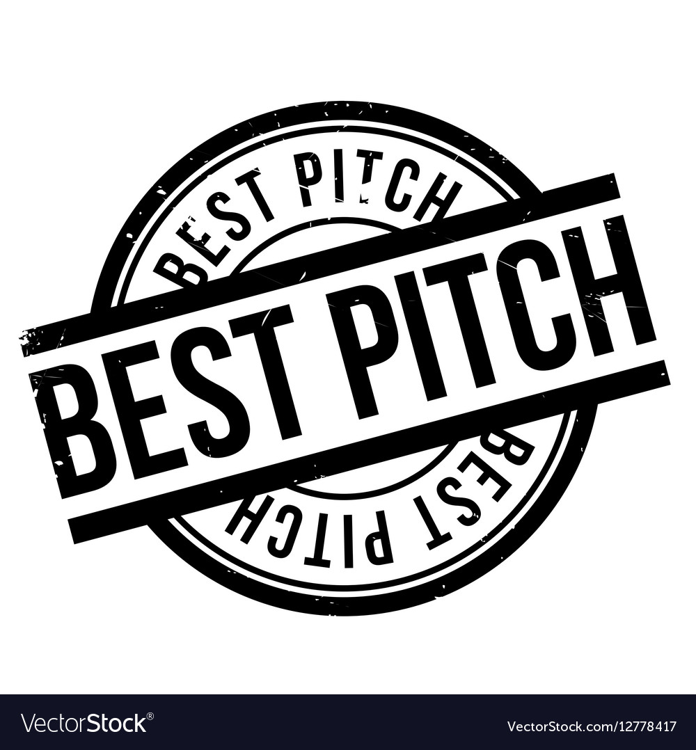 Best Pitch rubber stamp