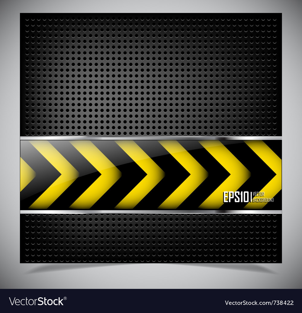 Dark abstract background vector image