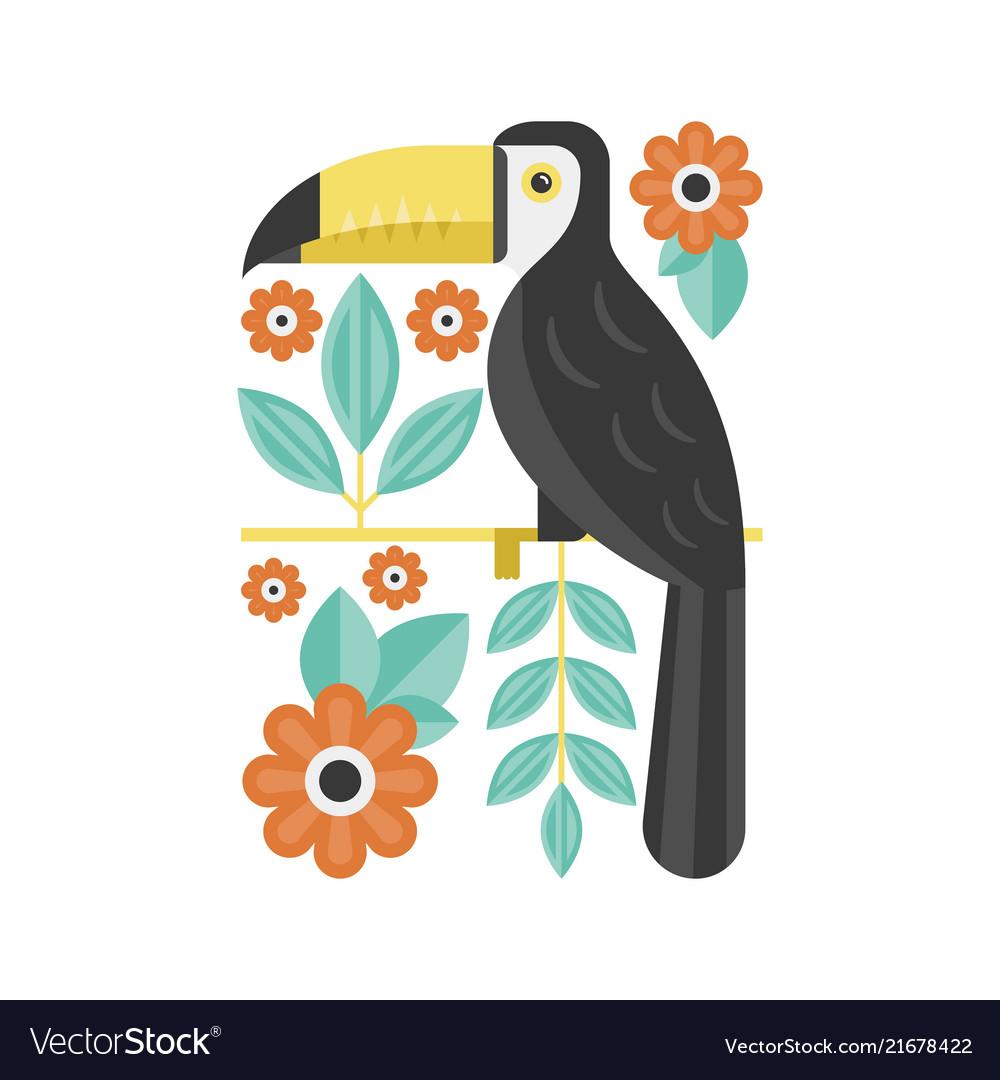 Drawing toucan