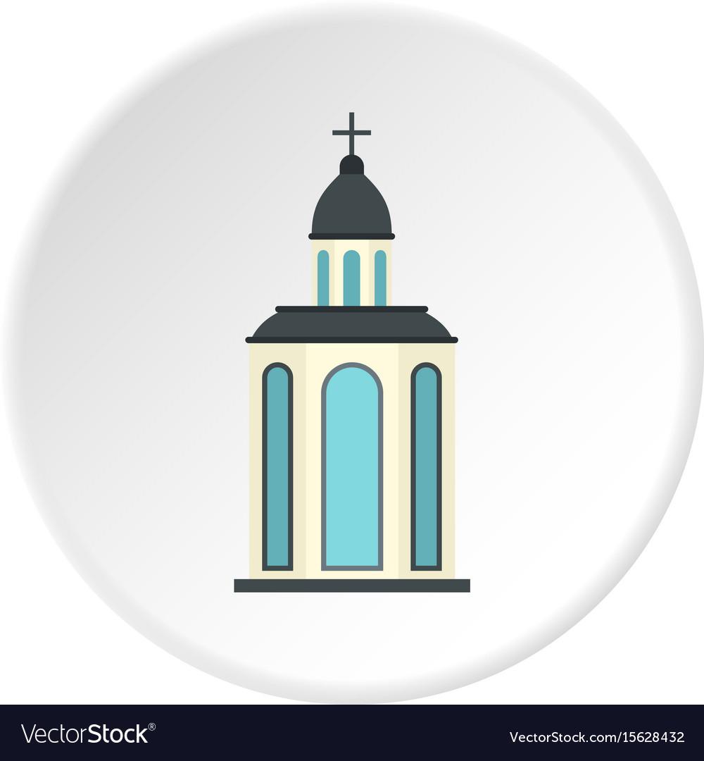 Church icon circle