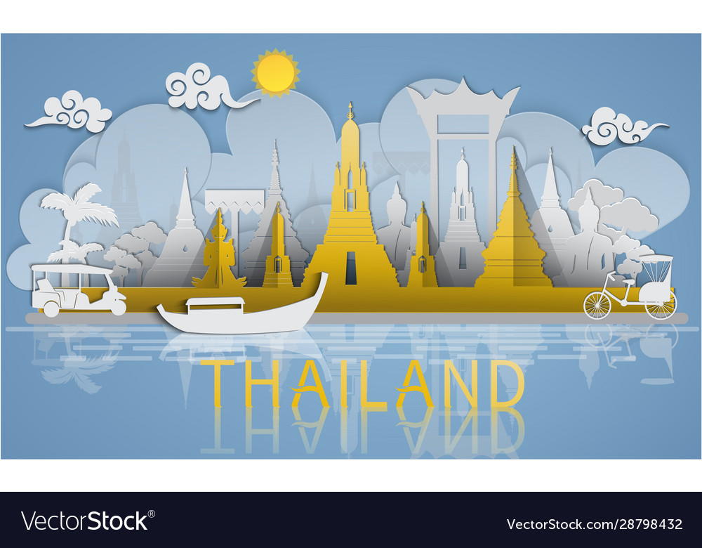 Thailand travel famous landmarks