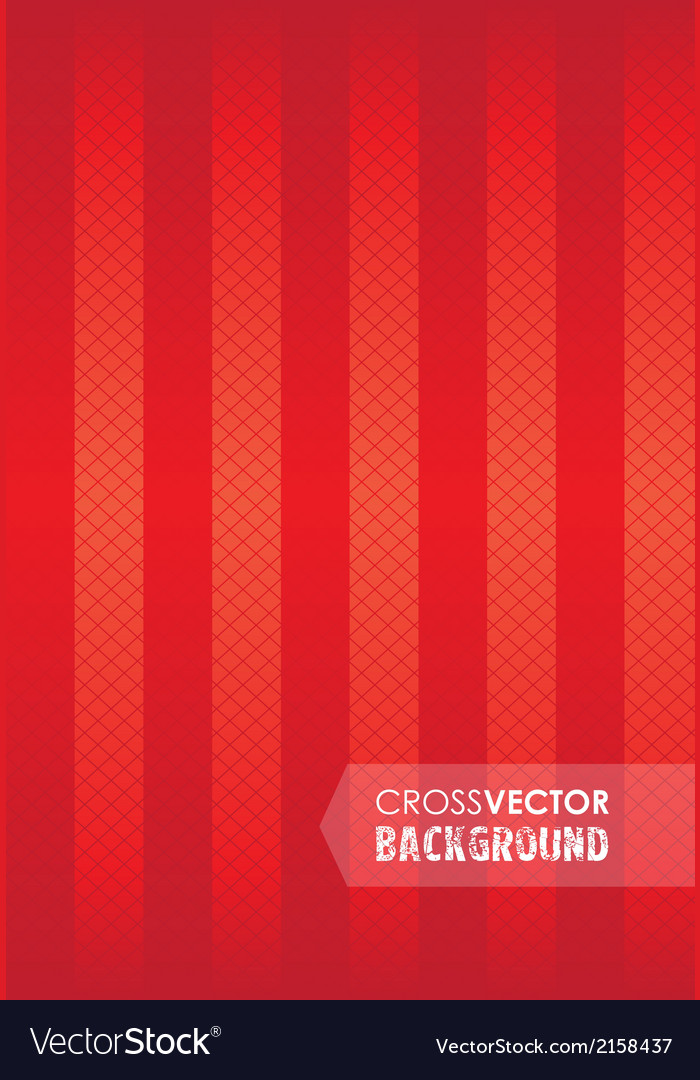 Cross background red
