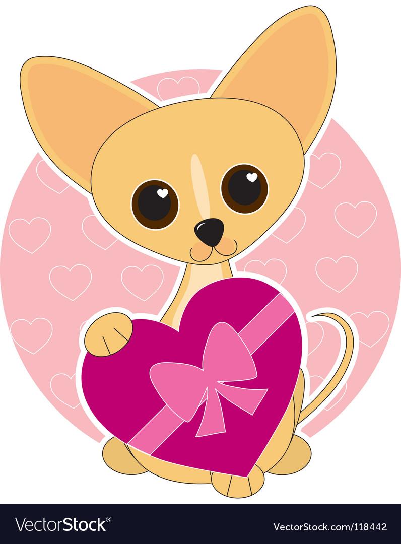 Chihuahua heart theme
