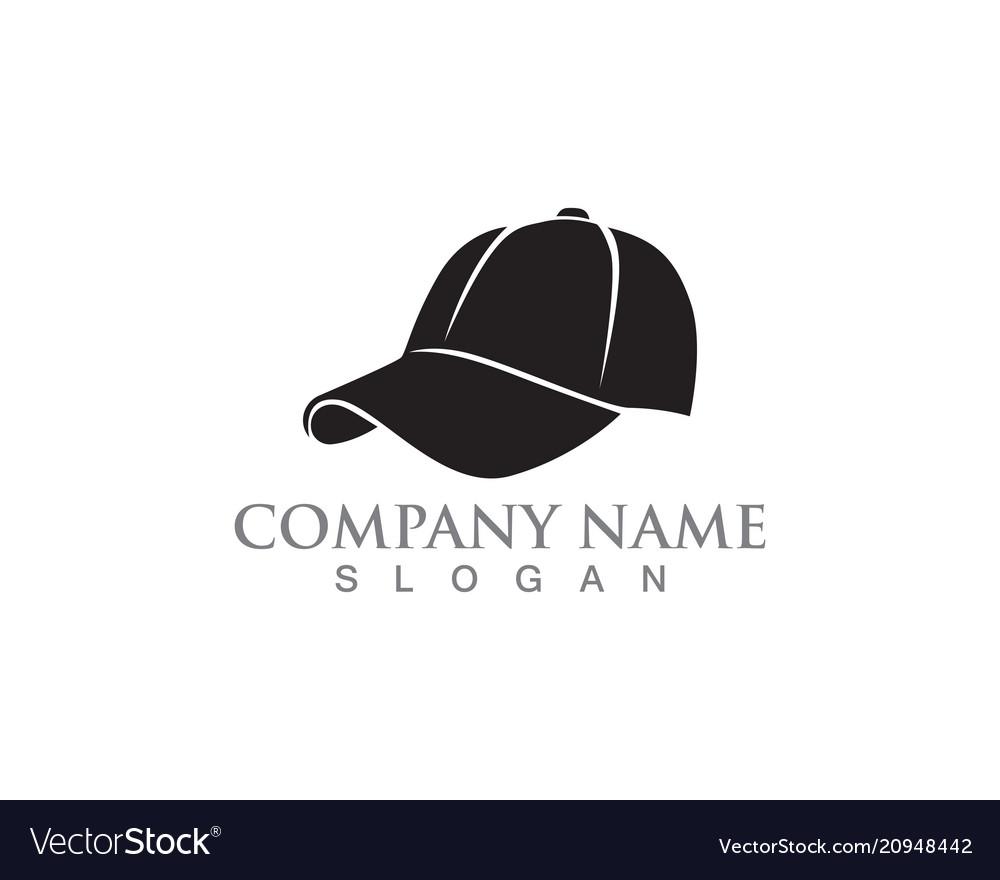 Hat Woman Symbols Logo Black Color Royalty Free Vector Image