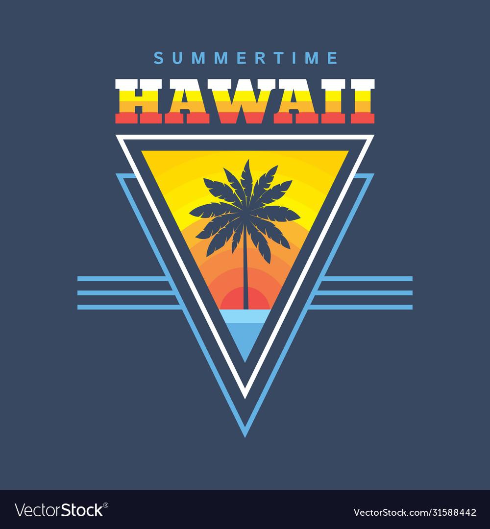 Hawaii summertime - concept
