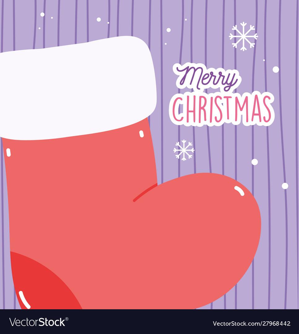 Merry christmas celebration decoration red