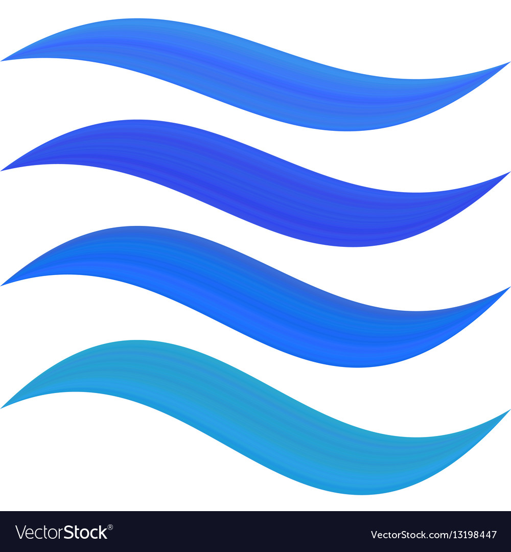 Free Blue Water Element Symbol Clipart Library