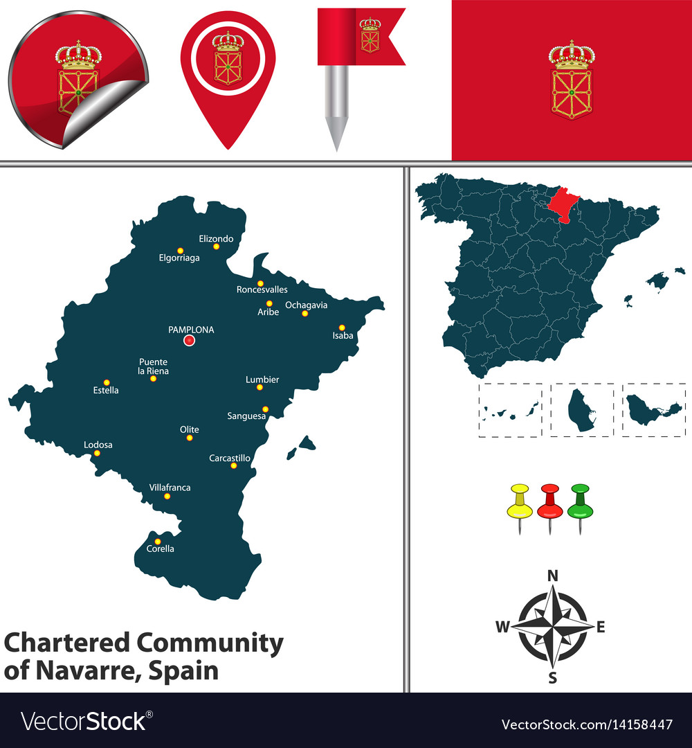 Chartered community of navarre spain