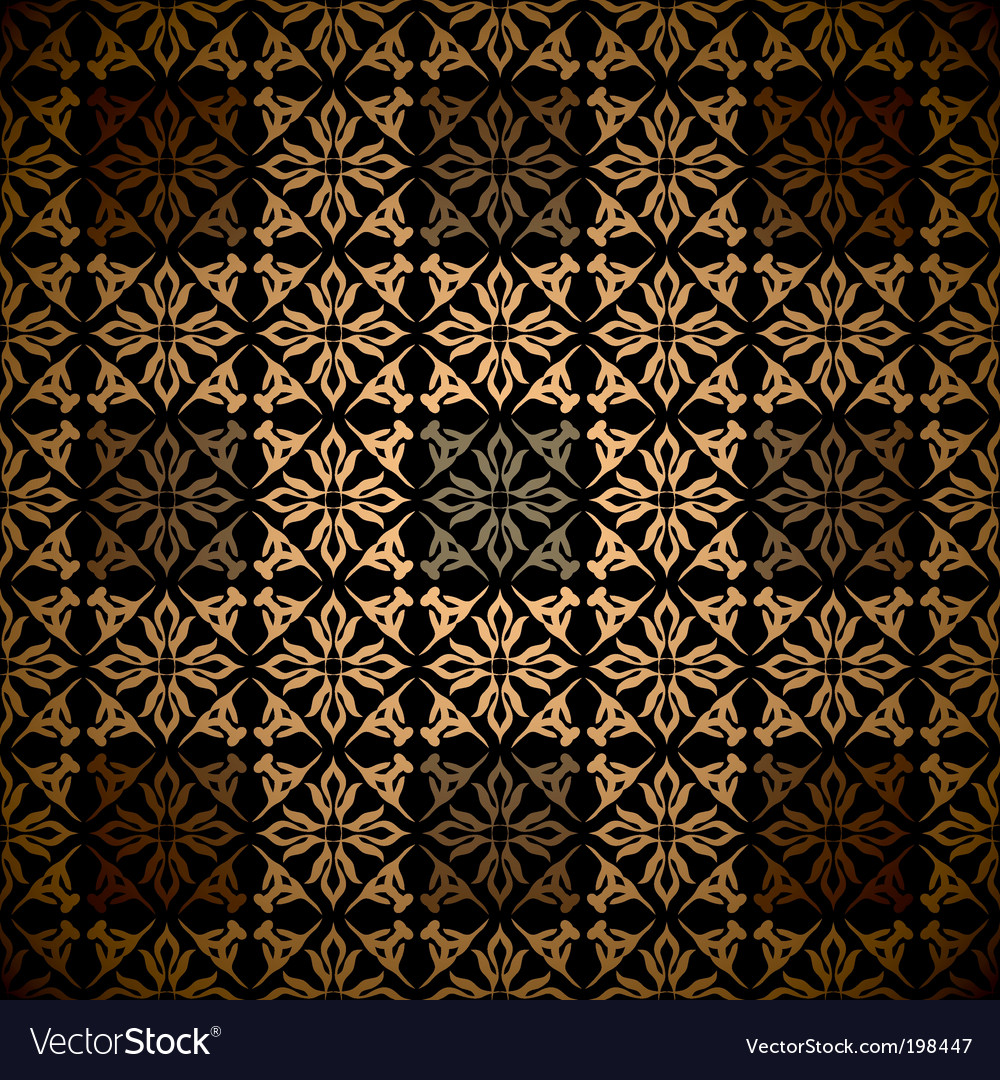 Victorian Wallpaper Pattern Royalty Free Vector Image