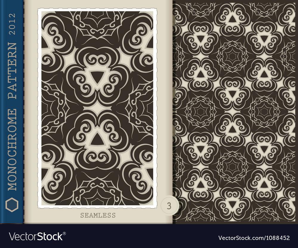 Seamless Pattern Monochrome