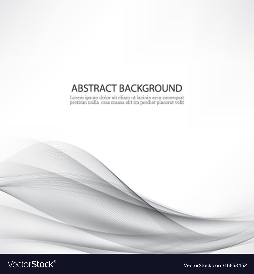 Simple gray abstract background vector image