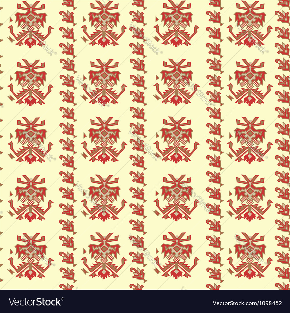 Traditional background vector image