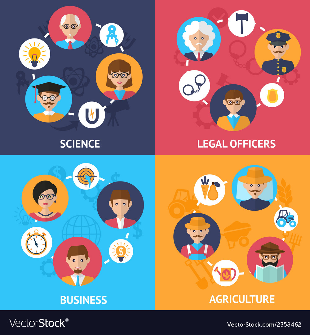 Teamwork people group vector image