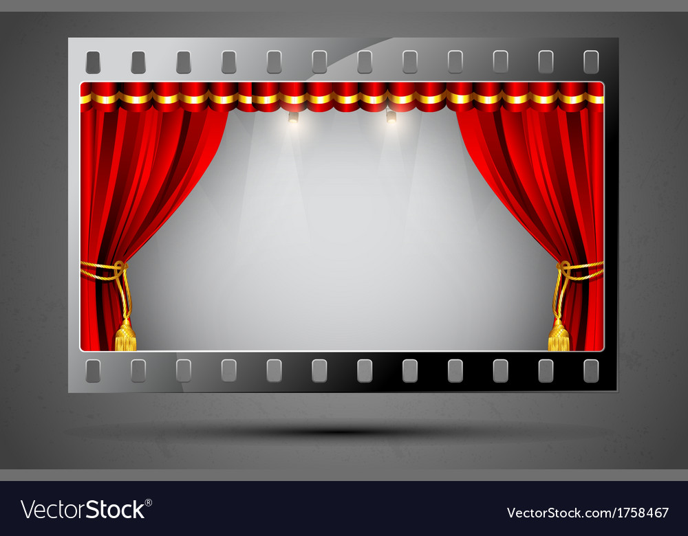 Cinema Theater vector image