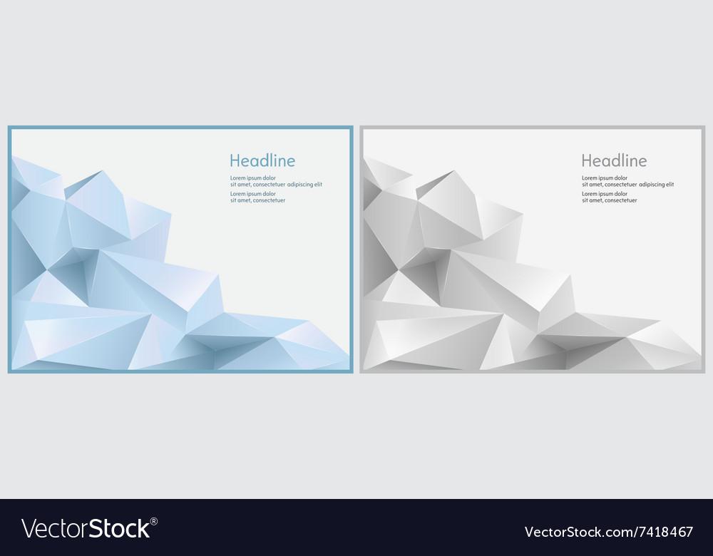 Two background for presentation slides