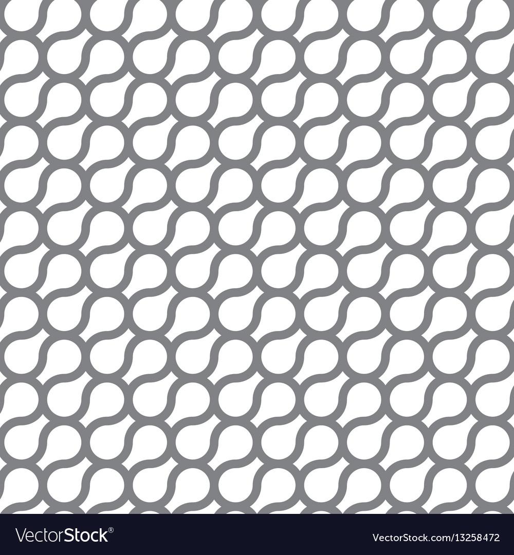 Circle curve seamless pattern background