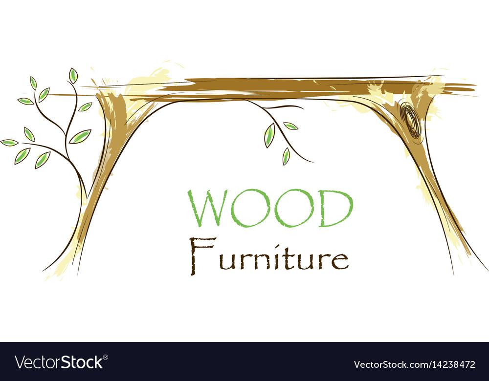 Wood Interior Logo Royalty Free Vector Image Vectorstock