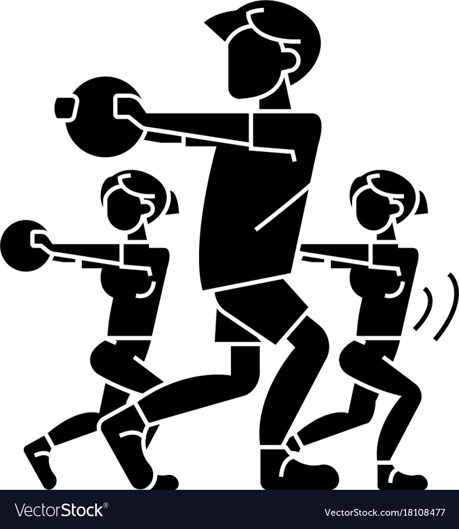 Fitness people - gym icon