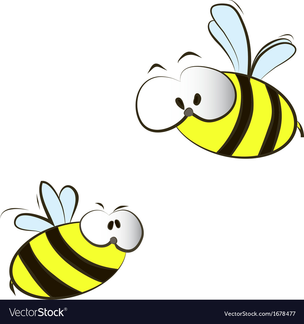 It is a picture of Irresistible Funny Bee Picture
