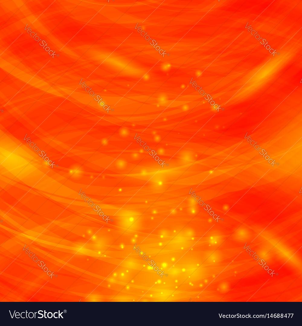 Orange burst blurred background sparkling texture