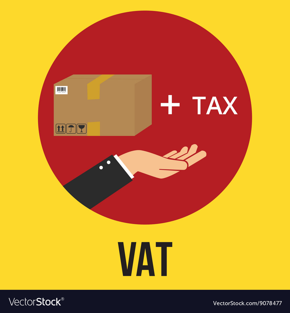 Vat Value Added Tax Goods Plus And