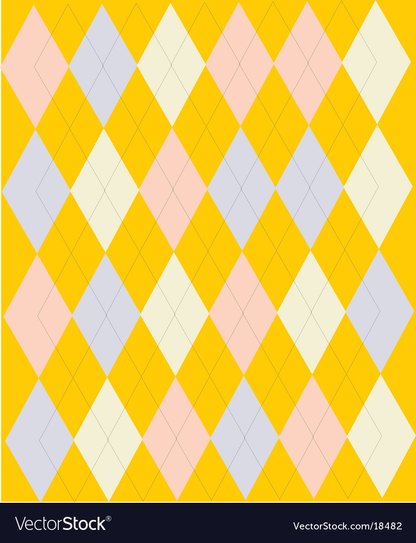 English pattern vector image