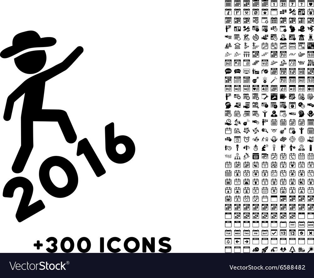 Human Figure Climbing 2016 Icon