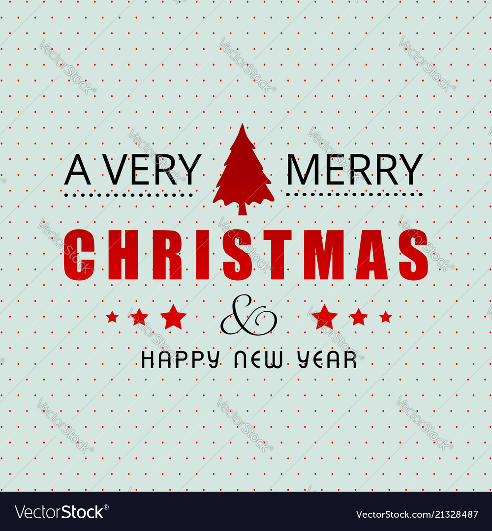 Christmas greetings card with light background