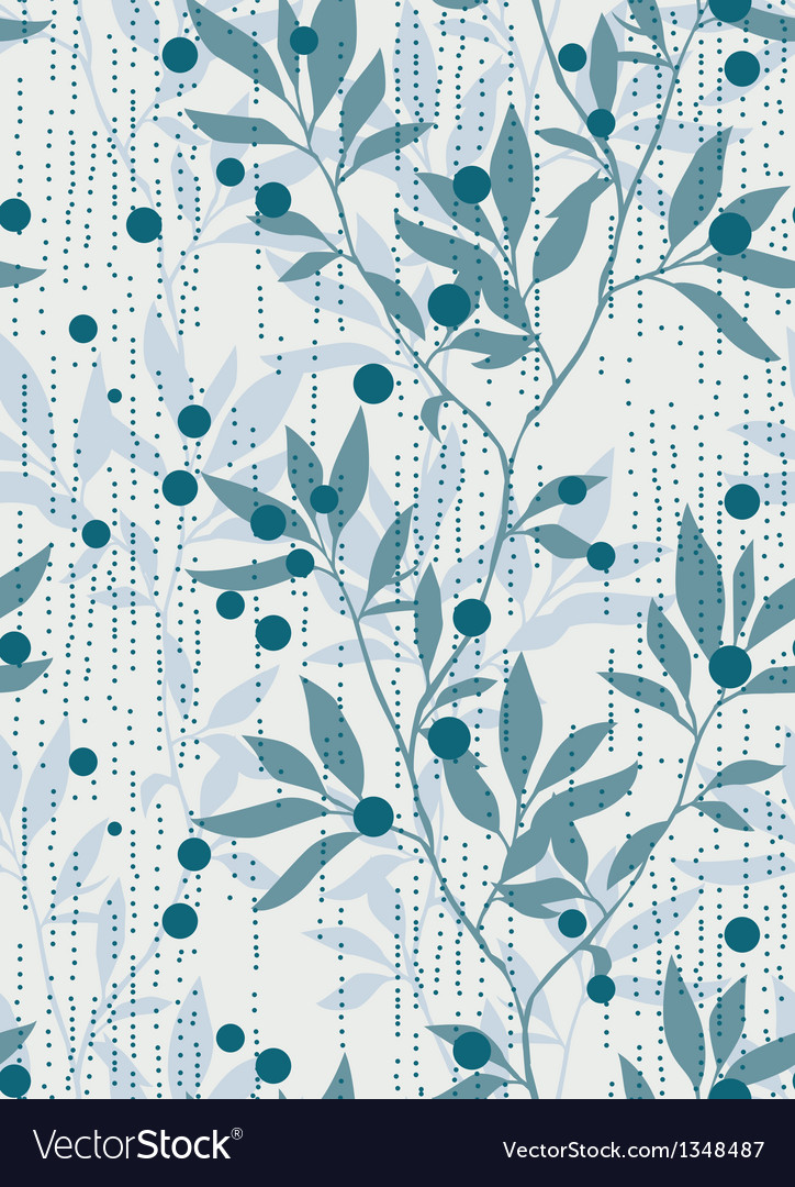 Foliage repeating pattern