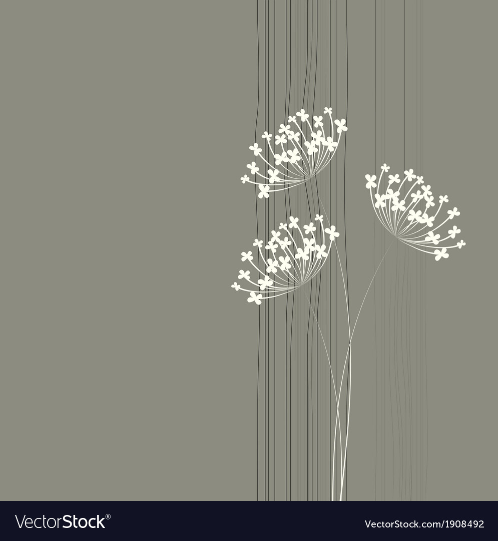 Flower background Simple and clean design template