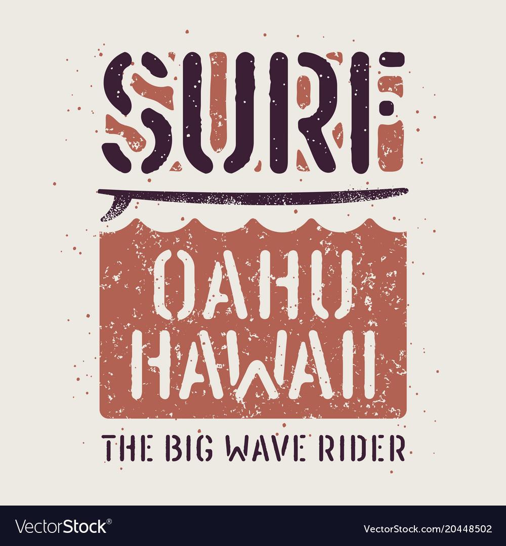 Surfing print 022