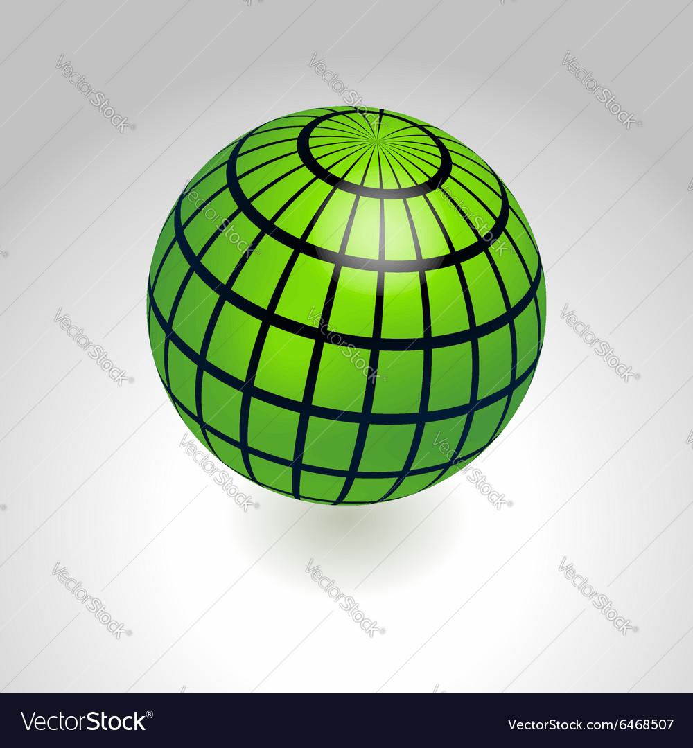Earth globe icon