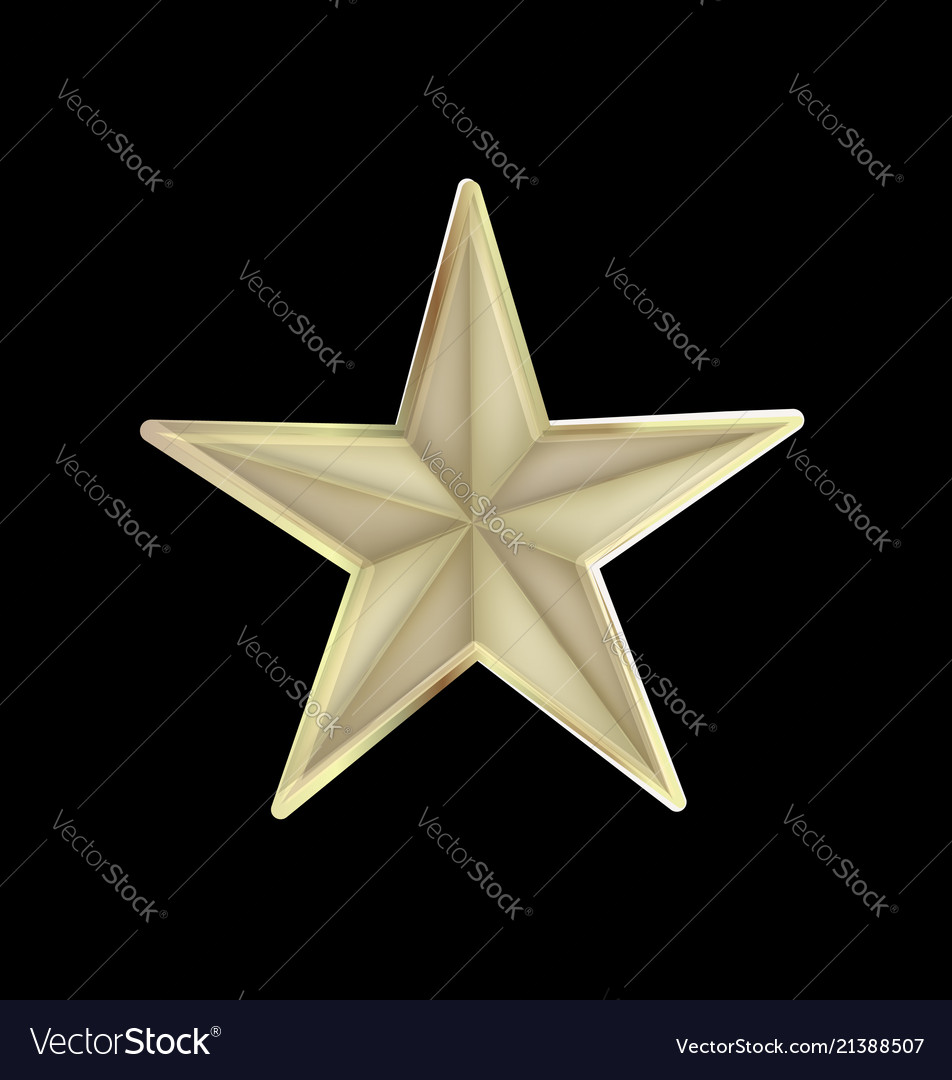 Festive star isolated icon