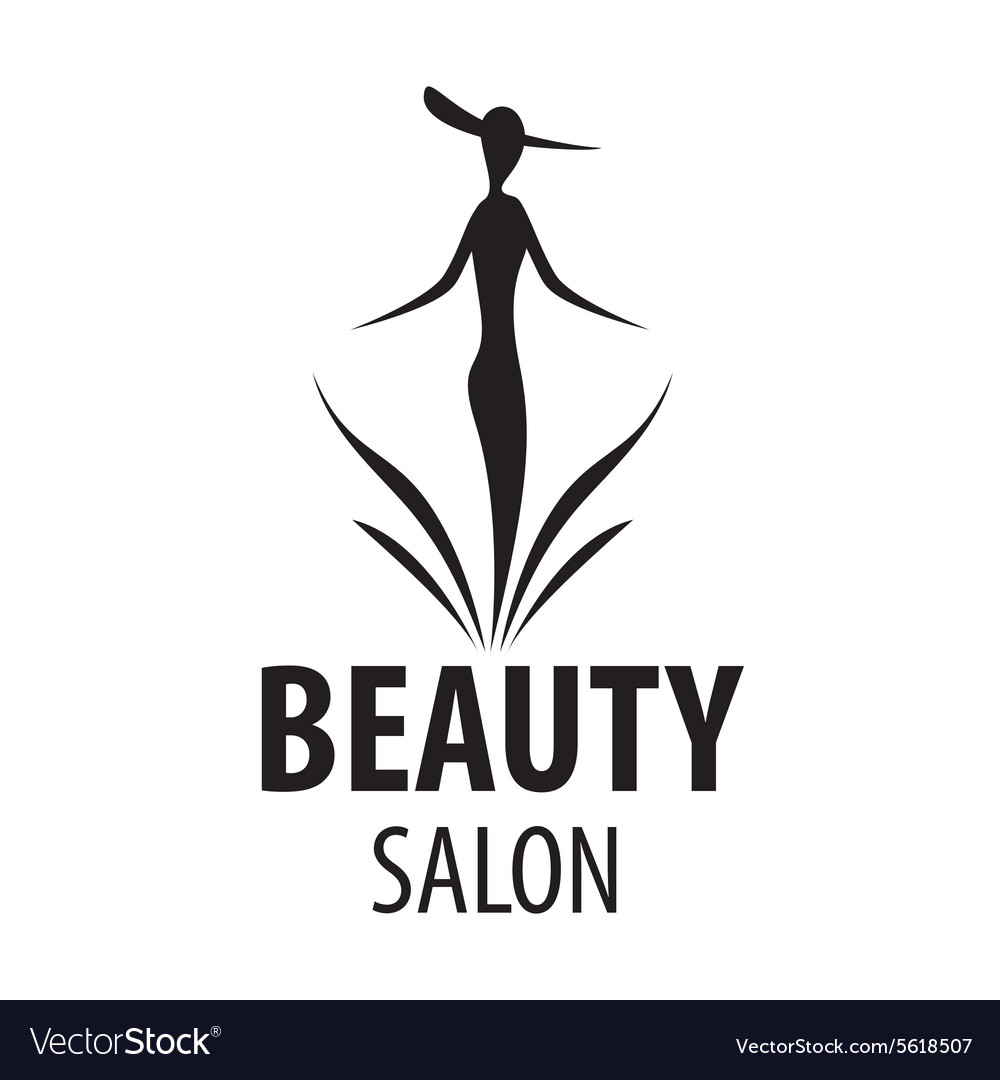 Logo elegant woman for a salon beauty